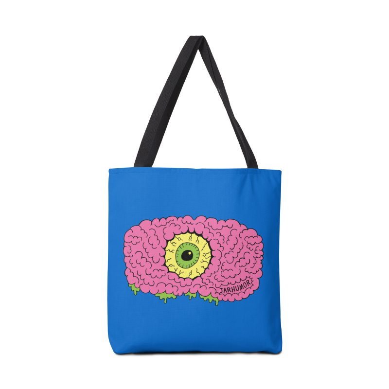 Eye Brain Monster Accessories Tote Bag Bag by JARHUMOR