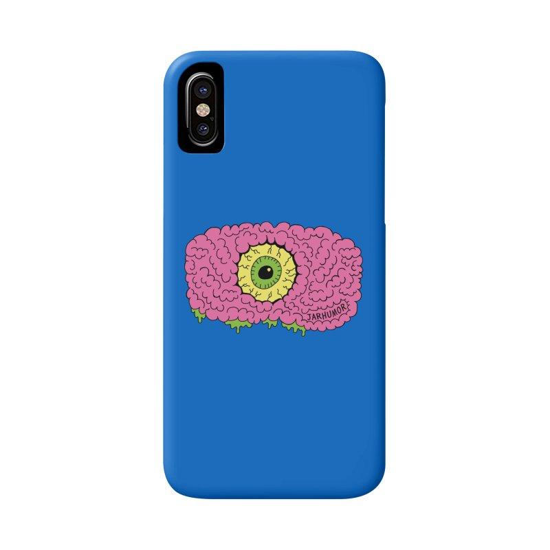 Eye Brain Monster Accessories Phone Case by JARHUMOR