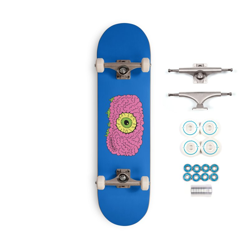 Eye Brain Monster Accessories Complete - Basic Skateboard by JARHUMOR