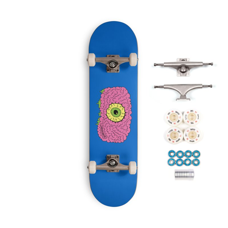 Eye Brain Monster Accessories Complete - Premium Skateboard by JARHUMOR