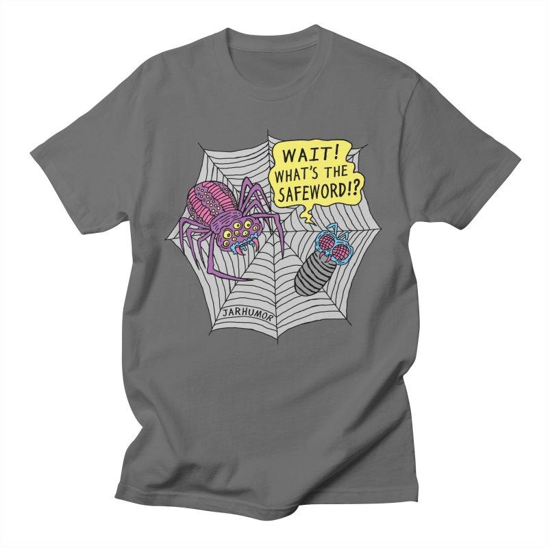 Spider Safeword Men's T-Shirt by JARHUMOR