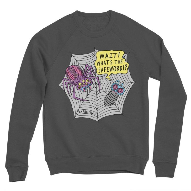 Spider Safeword Women's Sponge Fleece Sweatshirt by JARHUMOR