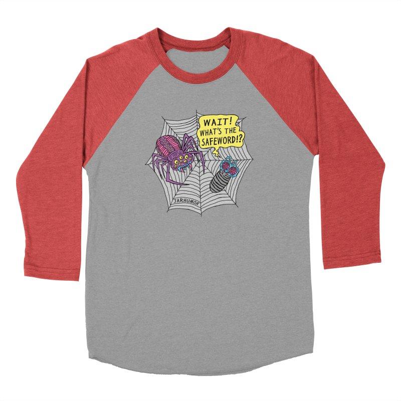 Spider Safeword Men's Longsleeve T-Shirt by JARHUMOR