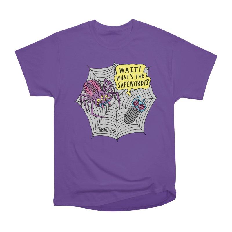 Spider Safeword Women's Heavyweight Unisex T-Shirt by JARHUMOR