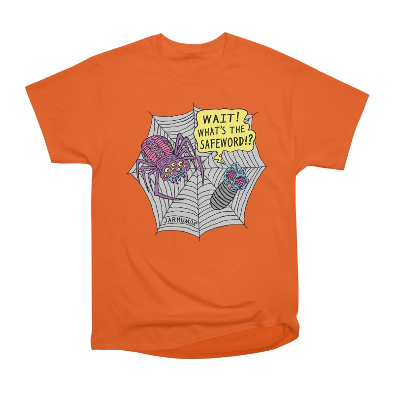 Spider Safeword Men's Heavyweight T-Shirt by JARHUMOR