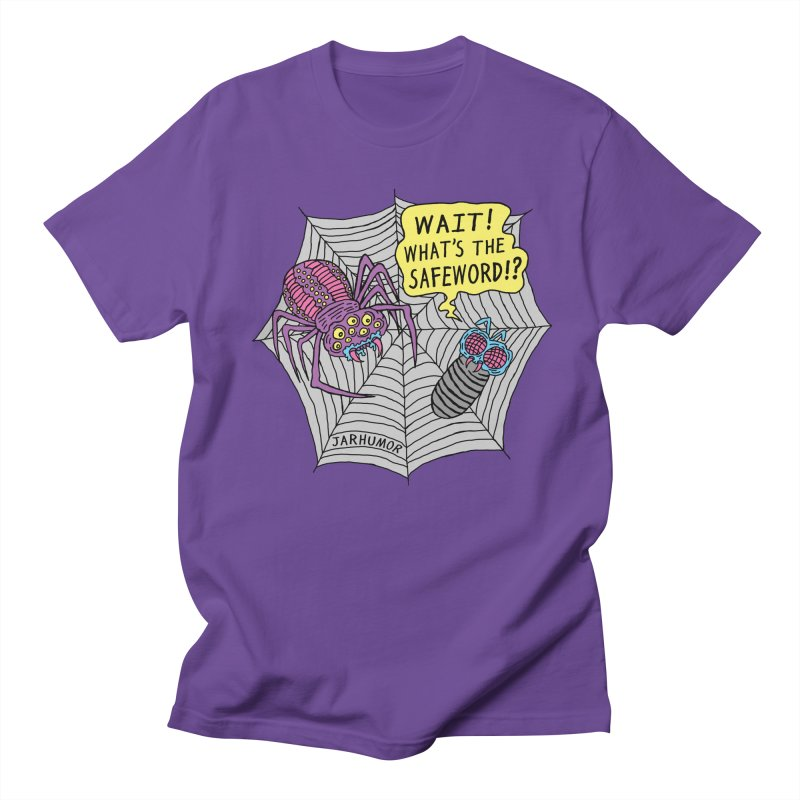 Spider Safeword Men's Regular T-Shirt by JARHUMOR