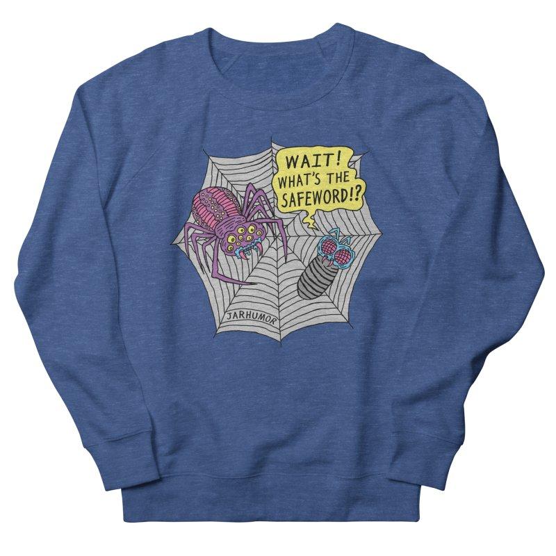 Spider Safeword Men's Sweatshirt by JARHUMOR