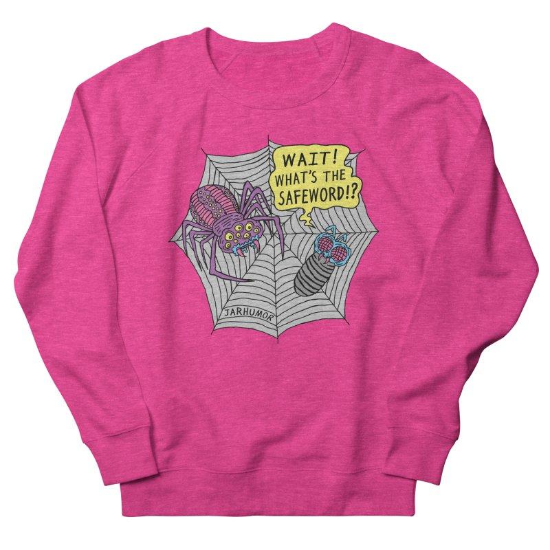Spider Safeword Men's French Terry Sweatshirt by JARHUMOR