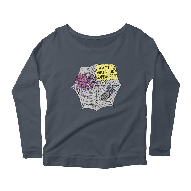 Spider Safeword Women's Longsleeve T-Shirt by JARHUMOR