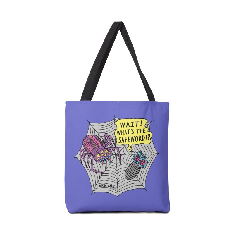 Spider Safeword Accessories Tote Bag Bag by JARHUMOR