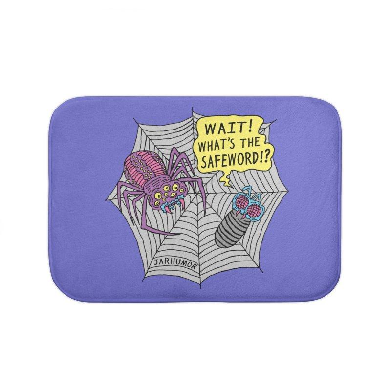 Spider Safeword Home Bath Mat by JARHUMOR