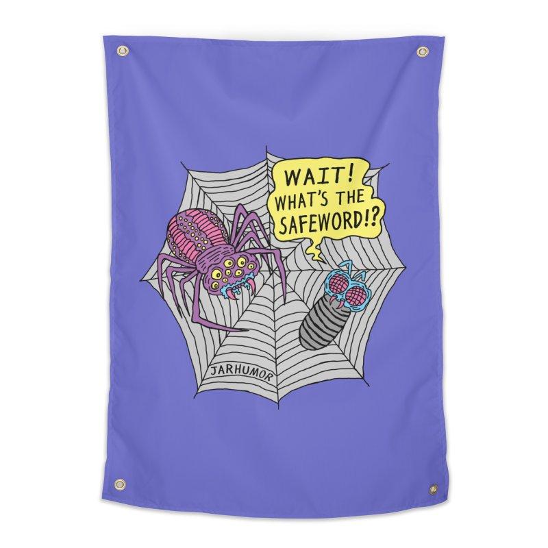 Spider Safeword Home Tapestry by JARHUMOR