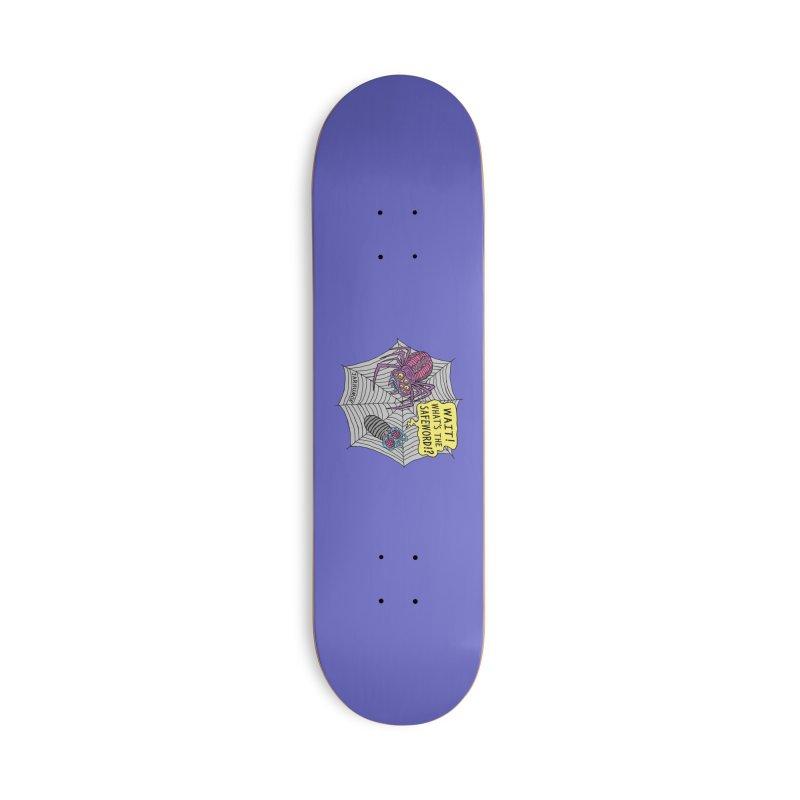 Spider Safeword Accessories Deck Only Skateboard by JARHUMOR