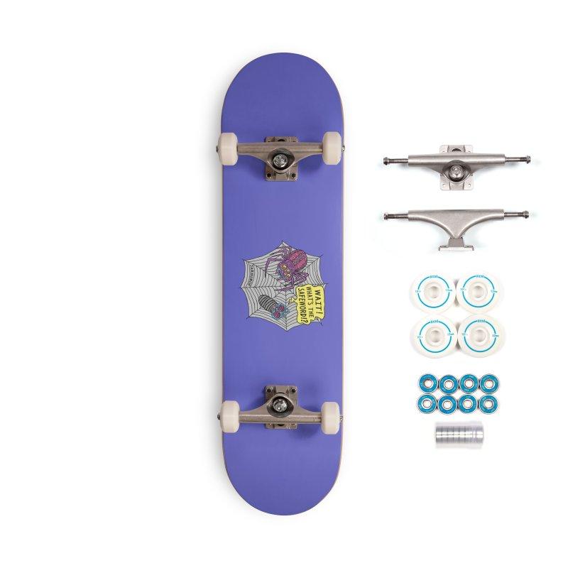 Spider Safeword Accessories Skateboard by JARHUMOR