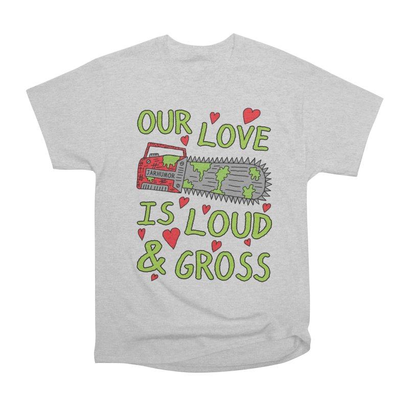 Chainsaw Love Men's T-Shirt by JARHUMOR