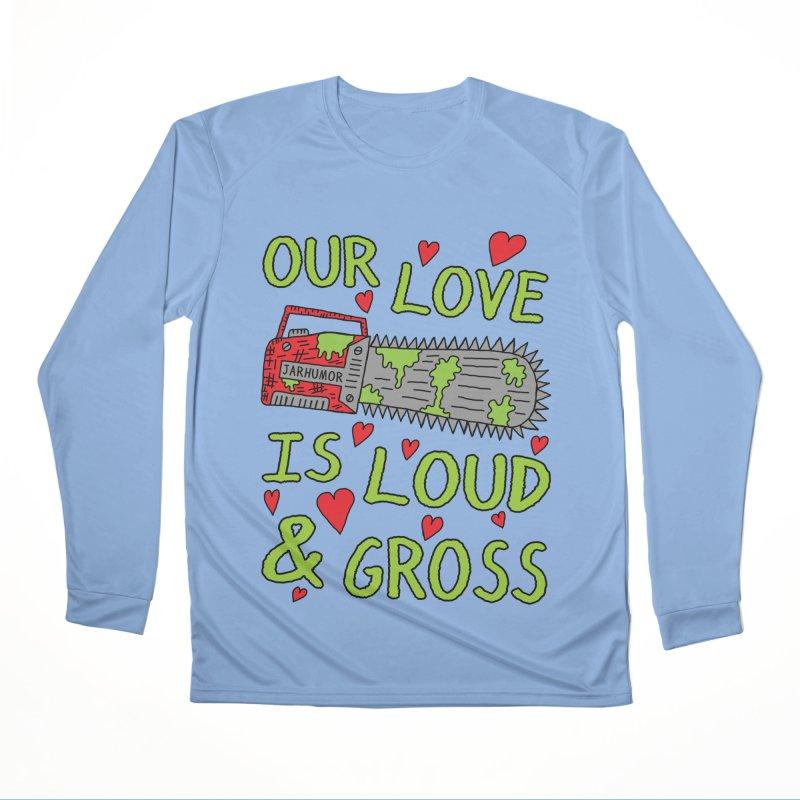 Chainsaw Love Women's Longsleeve T-Shirt by JARHUMOR