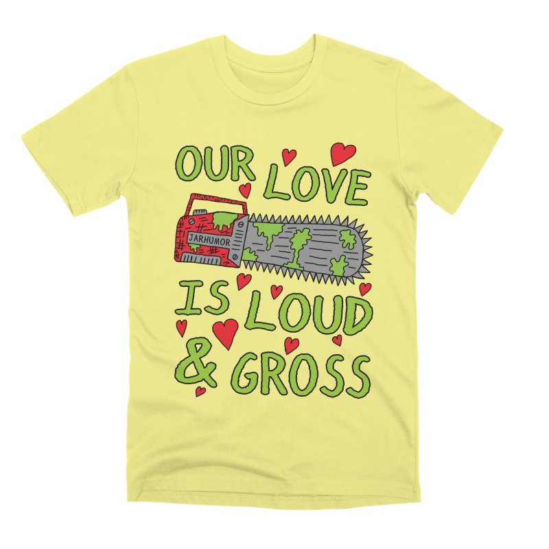 Chainsaw Love Men's Premium T-Shirt by JARHUMOR