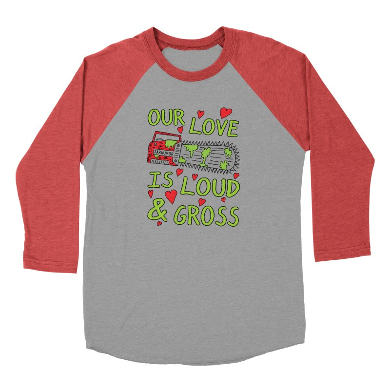 Chainsaw Love Men's Longsleeve T-Shirt by JARHUMOR