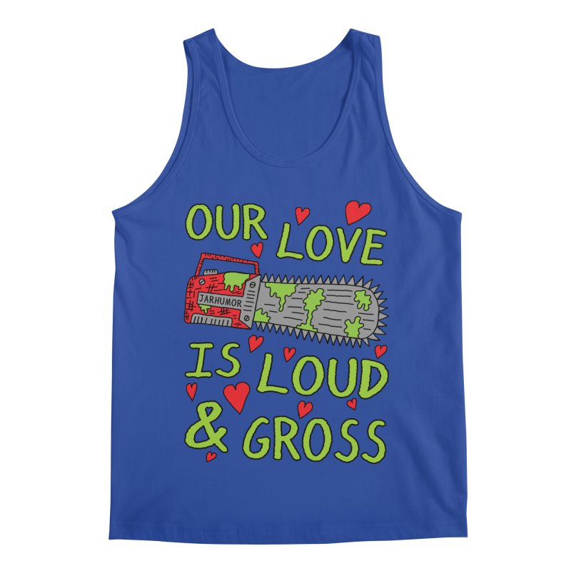 Chainsaw Love Men's Regular Tank by JARHUMOR