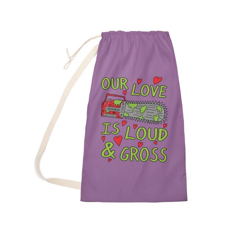 Chainsaw Love Accessories Bag by JARHUMOR