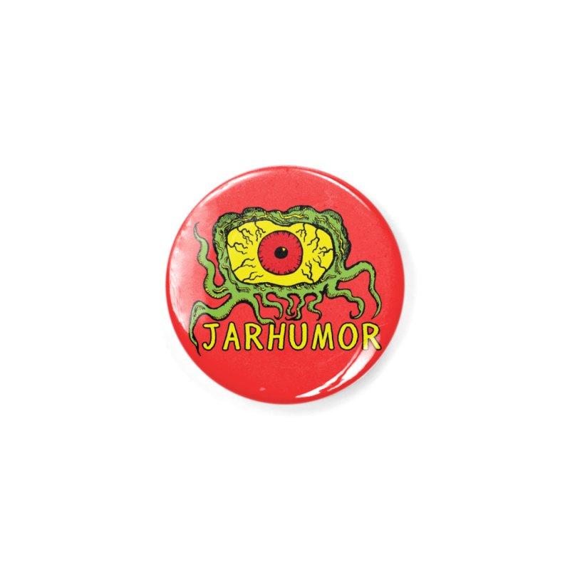JARHUMOR Creeping Eye Accessories Button by JARHUMOR