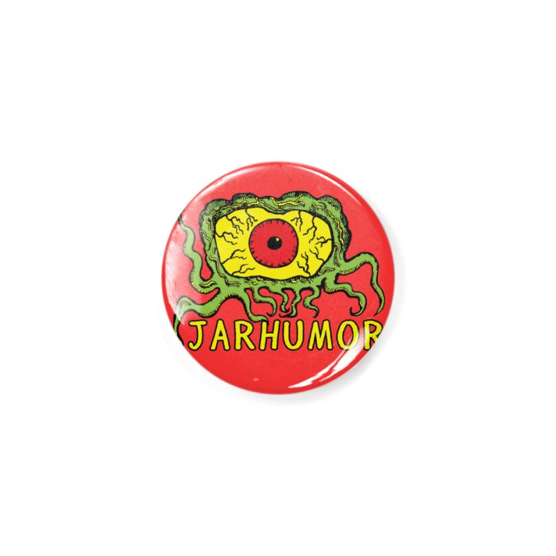 JARHUMOR Creeping Eye Accessories Button by JARHUMOR