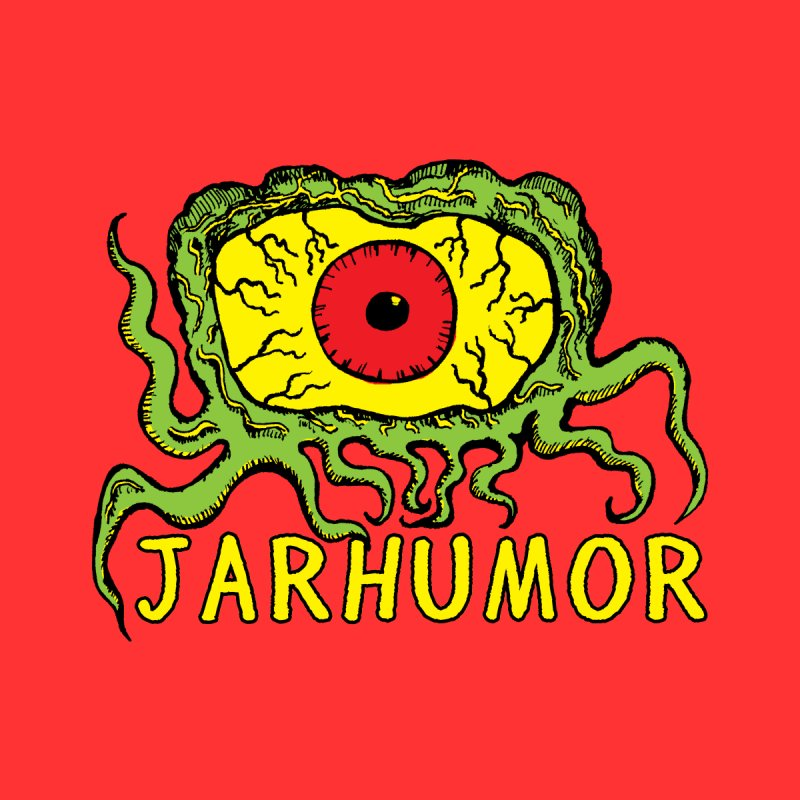 JARHUMOR Creeping Eye Men's Longsleeve T-Shirt by JARHUMOR