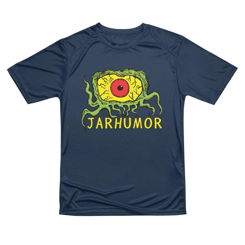 JARHUMOR Creeping Eye Women's Performance Unisex T-Shirt by JARHUMOR