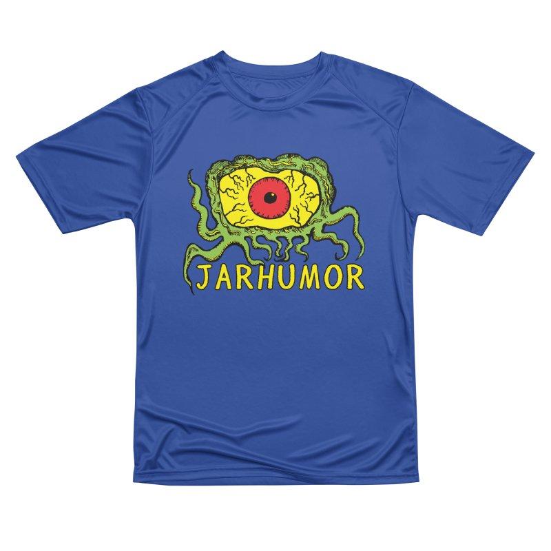 JARHUMOR Creeping Eye Men's Performance T-Shirt by JARHUMOR
