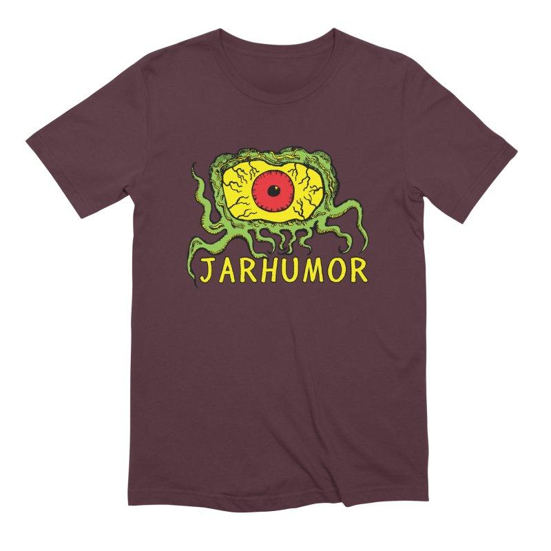 JARHUMOR Creeping Eye Men's Extra Soft T-Shirt by JARHUMOR