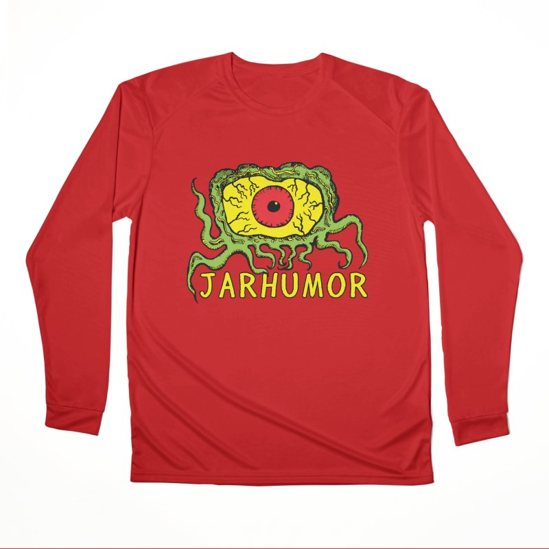 JARHUMOR Creeping Eye Men's Performance Longsleeve T-Shirt by JARHUMOR