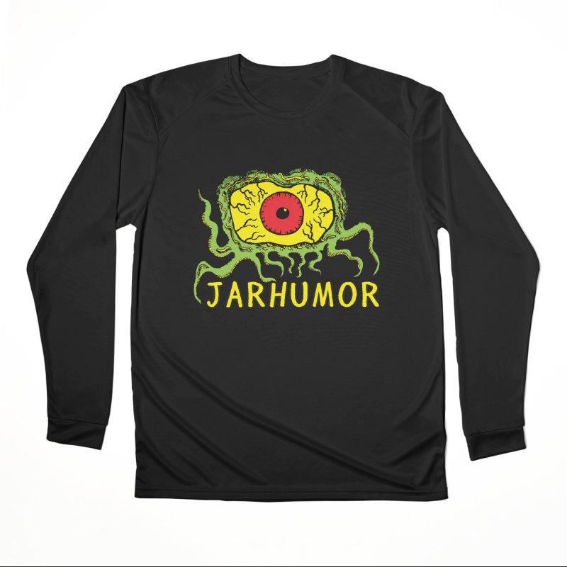 JARHUMOR Creeping Eye Men's Performance Longsleeve T-Shirt by JARHUMOR