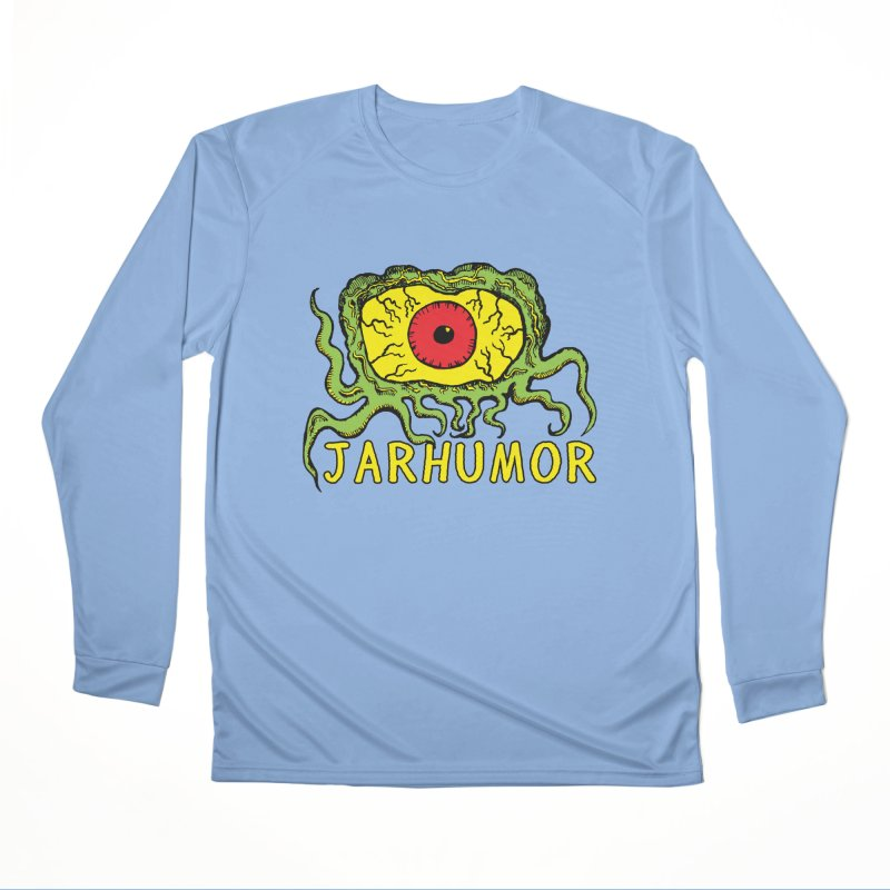 JARHUMOR Creeping Eye Women's Longsleeve T-Shirt by JARHUMOR
