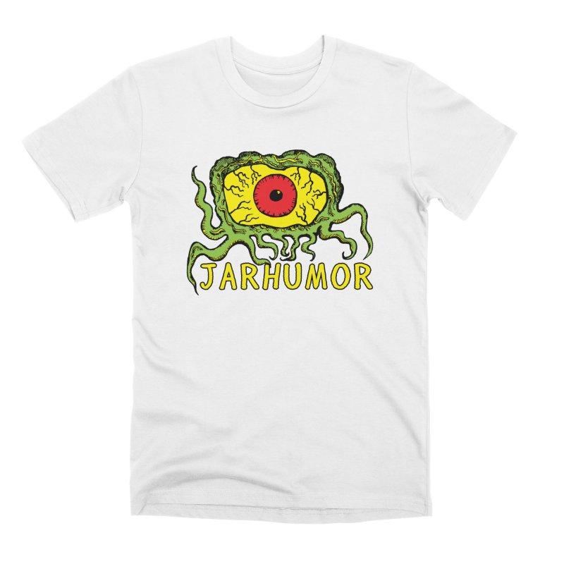 JARHUMOR Creeping Eye Men's Premium T-Shirt by JARHUMOR