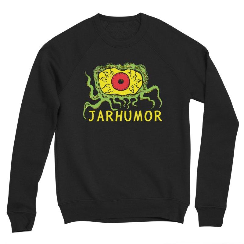 JARHUMOR Creeping Eye Women's Sponge Fleece Sweatshirt by JARHUMOR
