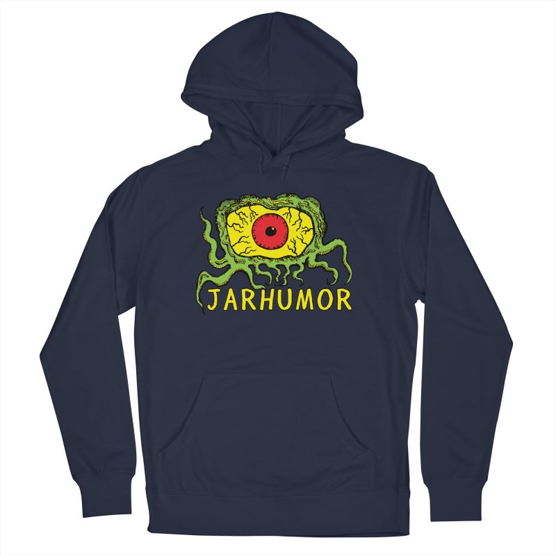 JARHUMOR Creeping Eye Women's French Terry Pullover Hoody by JARHUMOR