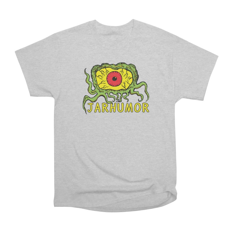 JARHUMOR Creeping Eye Women's Heavyweight Unisex T-Shirt by JARHUMOR