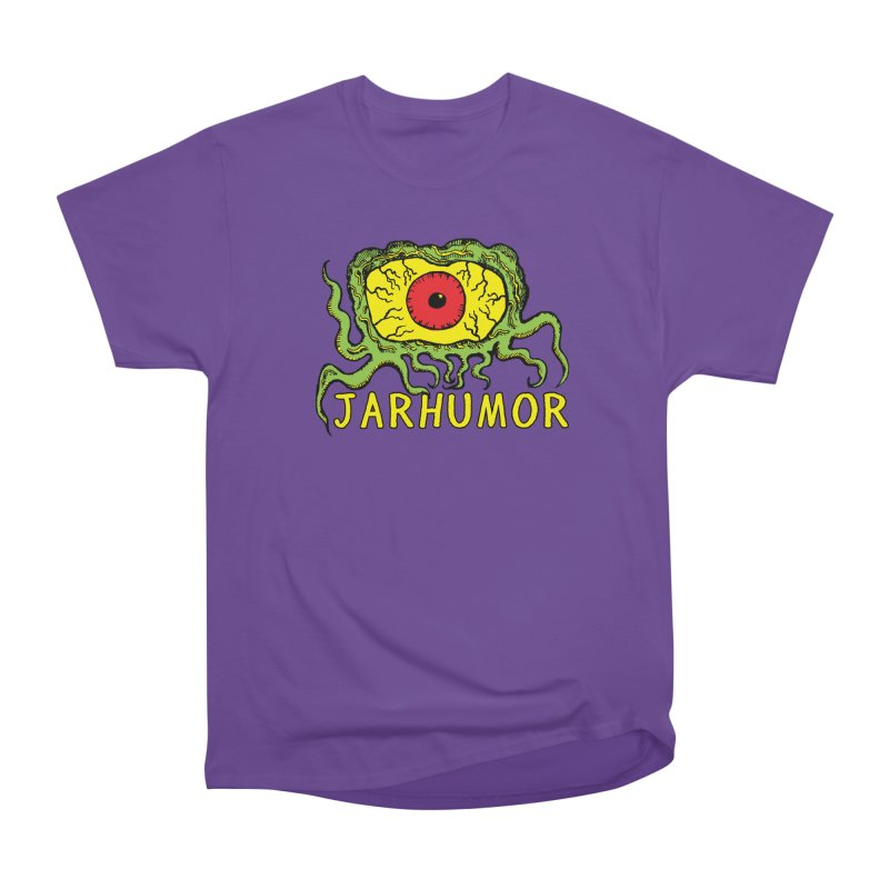 JARHUMOR Creeping Eye Men's Heavyweight T-Shirt by JARHUMOR