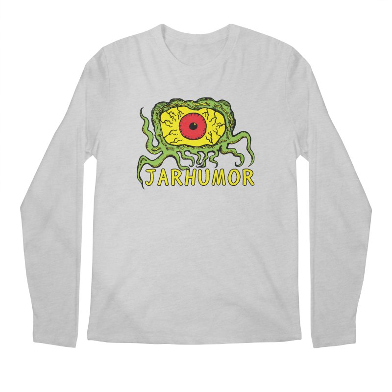 JARHUMOR Creeping Eye Men's Regular Longsleeve T-Shirt by JARHUMOR