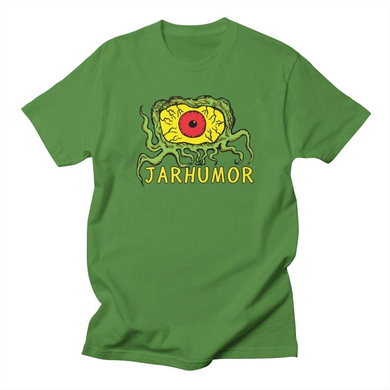 JARHUMOR Creeping Eye Men's Regular T-Shirt by JARHUMOR