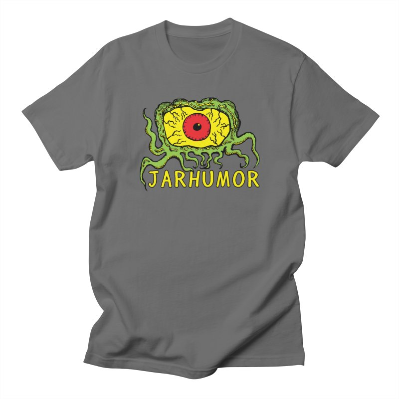 JARHUMOR Creeping Eye Women's Regular Unisex T-Shirt by JARHUMOR