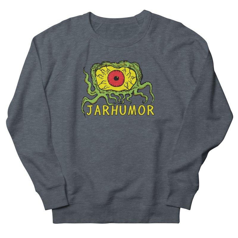 JARHUMOR Creeping Eye Men's French Terry Sweatshirt by JARHUMOR