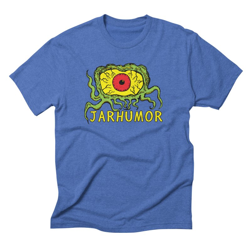 JARHUMOR Creeping Eye Men's Triblend T-Shirt by JARHUMOR