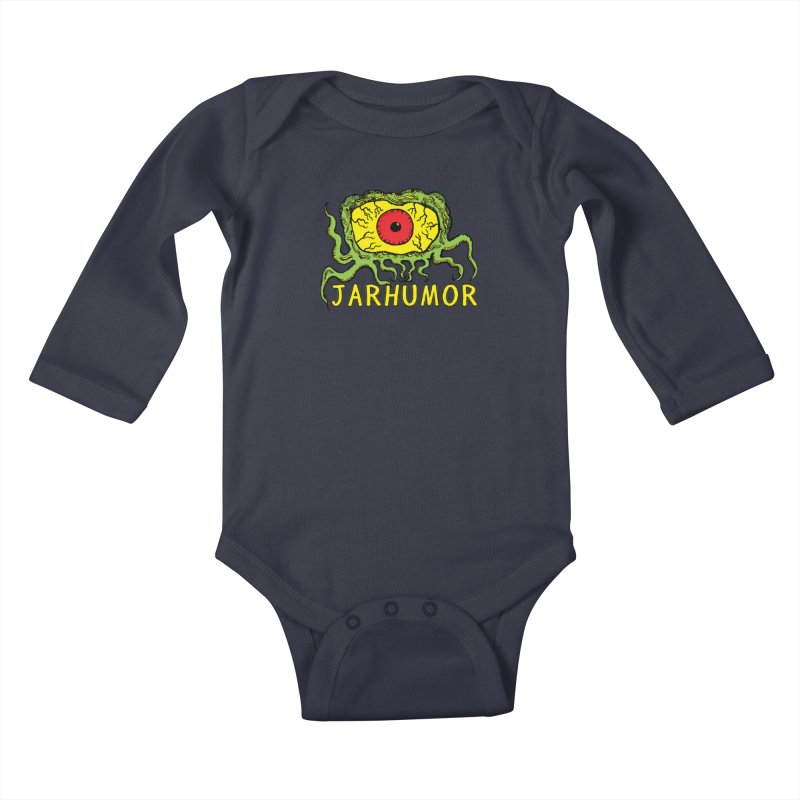JARHUMOR Creeping Eye Kids Baby Longsleeve Bodysuit by JARHUMOR