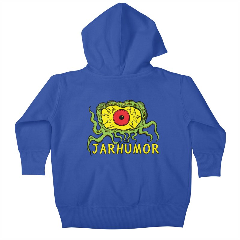 JARHUMOR Creeping Eye Kids Baby Zip-Up Hoody by JARHUMOR