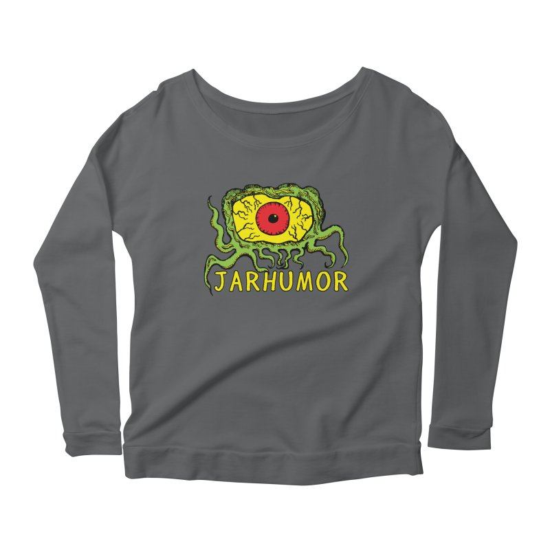 JARHUMOR Creeping Eye Women's Longsleeve T-Shirt by JARHUMOR