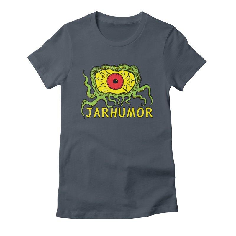 JARHUMOR Creeping Eye Women's T-Shirt by JARHUMOR