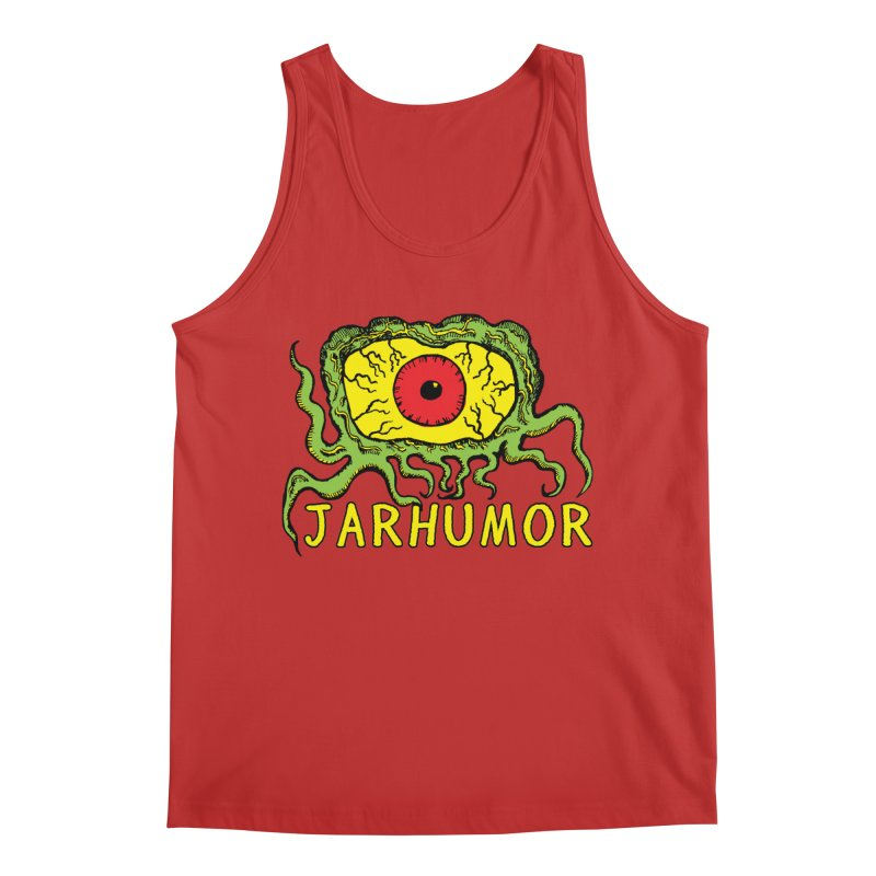 JARHUMOR Creeping Eye Men's Regular Tank by JARHUMOR