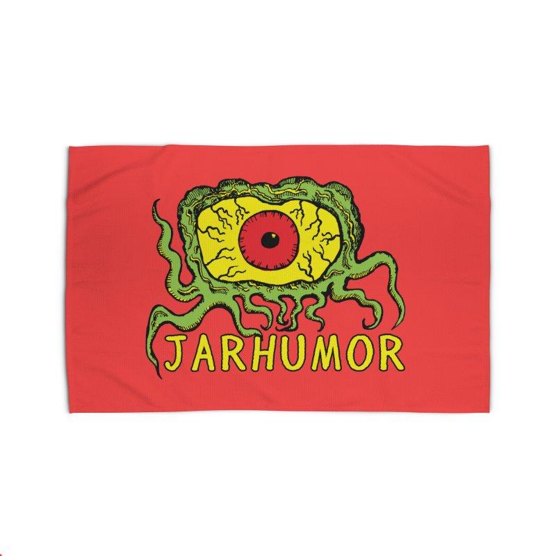 JARHUMOR Creeping Eye Home Rug by JARHUMOR