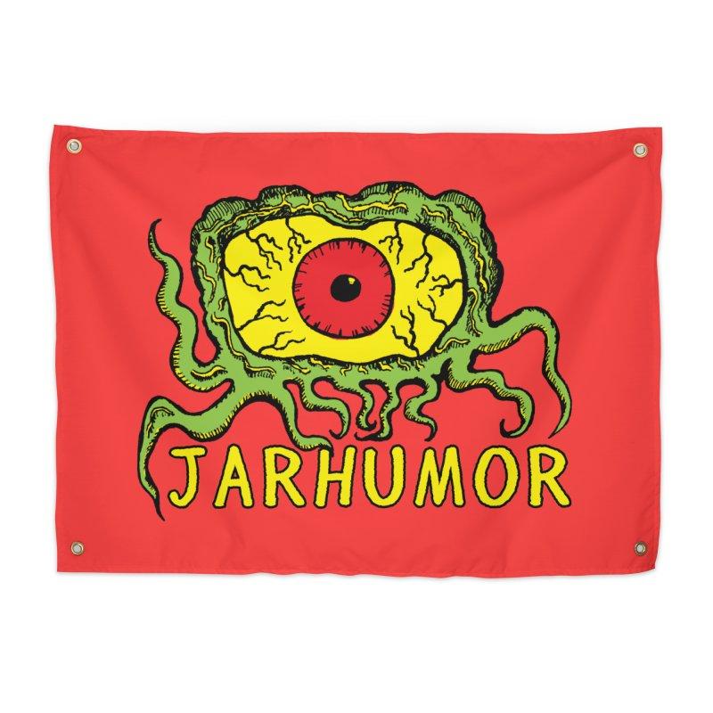 JARHUMOR Creeping Eye Home Tapestry by JARHUMOR